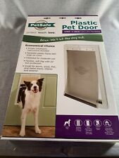 PetSafe Premium Plastic Pet Door ~ White ~ Large PPA00-10960