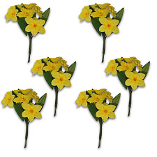 Craft Flowers Qty 36 - Daffodil Yellow Yellow