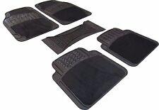 MPV Waterproof Rubber/Carpet Universal Car Mats Front / Rear Full Set Heavy Duty