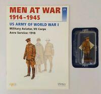 DelPrado Men at War - 21 - US Army of World War I - Military Aviator, VII Corps