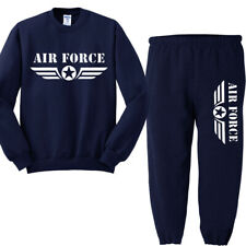 Air Force Sweatpants Crewneck Sweatshirt Gifts for Men Clothing