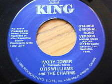 """OTIS WILLIAMS & THE CHARMS - IVORY TOWER / TWO HEARTS  7"""" VINYL"""