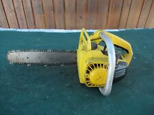 "Vintage McCULLOCH MINI MAC 30 Chainsaw Chain Saw with 12"" Bar"