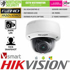 HIKVISION FACE DETECTION SMART NETWORK IP CAMERA 2.8-12MM POE AUDIO IR MOTORISED