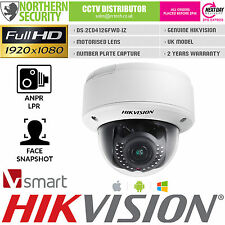 Hikvision Face Detection Smart Network IP Camera 2.8-12MM PoE IR MOTORIZZATO Audio