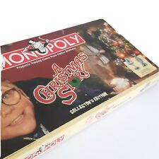 Monopoly A Christmas Story Collector's Edition 2009 Complete
