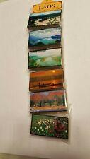 Laos Travel Souvenir Magnets - Set of 6 - Golden Triangle ++