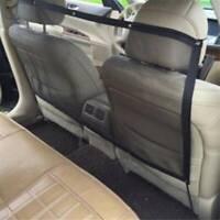 Pet Car Back Seat Travel Net for Dog Puppy Safety Set Up Van Divider Mesh WA