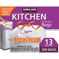 90-count Kirkland Signature Flex-Tech 33-Gallon Trash Bag