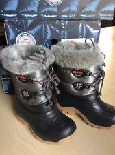 Girls Olang Snow Boots Antracite Colour size EU 25/26 UK 7.5-8.5 BNIB