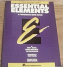 Essential Elements Comprehensive Band Method Baritone Saxophone  Book 1