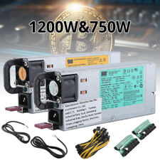 1950W 1200W 700W PSU Mining Power Supply Bitcoin For Antminer S9 D3 L3+ S7 US WF