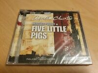 Five Little Pigs - Agatha Christie Audiobook BBC Full Cast Dramatisation SEALED
