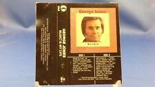 GEORGE JONES - Music Is My Life - 16 Big Hits! EXCELLENT CONDITION KTEL CASSETTE