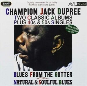 1103799 1711365 Audio Cd Champion Jack Dupree - Two Classic Albums