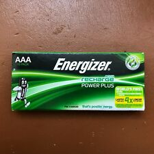10 Energizer AAA Rechargeable POWER PLUS Batteries 700 mAh NEW Pre-Charged