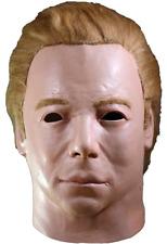 Halloween Michael Myers Star Trek - 1975 Captain Kirk Latex Deluxe Mask Haunted