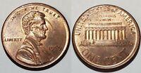 1999 - OFF CENTER BROADSTRUCK - LINCOLN MEMORIAL CENT MAJOR MINT ERROR #11051