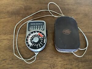 SANGAMO WESTON Exposure Meter In Case Model. S 461.4