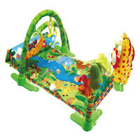 Large 110cm Light & Musical 4 in 1 Foldable Baby Playmats Play Mat Gym Nest