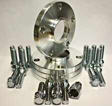 4 X 25MM WHEEL SPACERS 72.6-65.1 + BOLTS & LOCKING BOLT FIT FOR VW T6 VAN