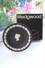 Wedgwood Dish National Postal Museum Jasperware Limited Edition 1000 Boxed Black