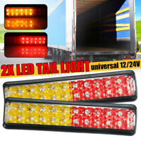 2X Trailer Lights LED Tail Lights Truck Ute Caravan Boat Indicator IP68 12V  R