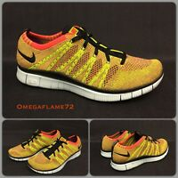 Nike Free Run Flyknit NSW, Crimson Black,  599459-604, Uk 7, EU 41, USA 8