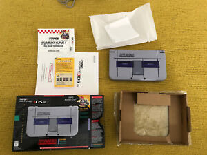 Nintendo 3DS XL System Super NES Edition Perfect Tested Barely Used Complete