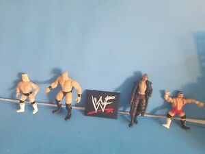 WRESTLING FIGURE LOT.YOU GET ALL YOU SEE.FAST FREE SHIPPING.