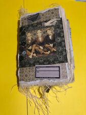 "Handmade Fabric Junk Journal - Vintage Men - Tim Holtz ephemera - 4"" x 6"" Ooak!"