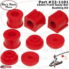 Prothane 22-1101 Front 19mm Sway Bar & End Link Bushing Kit for 85-98 Golf/Jetta