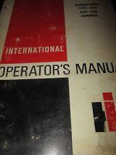 International 1440, 1460, 1480 Combines Operator's Manual 1981
