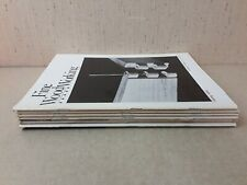 6 Vintage Fine Woodworking Soft Cover Issues 1979