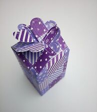 Die Cut - Heart Top Gift Boxes - Many Colours & Designs