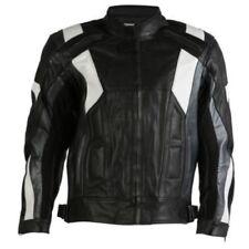 Giacche neri pelle bovini per motociclista Taglia XL