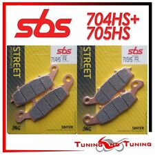 Pastiglie Anteriori SBS HS Sinter Per KAWASAKI Z 750 2004 04 2005 05(704+705 HS)