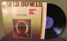 "David Bowie ""Starting Point"" LP LC 50007 NM in shrink Ziggy Stardust"