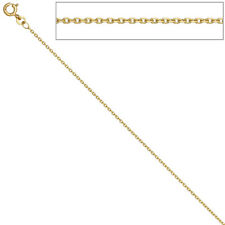 Anchor Chain 585 YELLOW GOLD 1,6 mm 42 cm Gold Necklace Gold Chain Bolt Ring