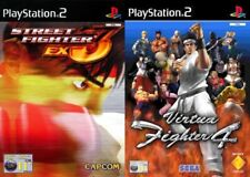 street fighter ex3 & virtua fighter 4     PAL PS2