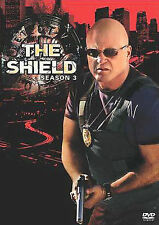 The Shield - Season 3 (DVD, 2008, 4-Disc Set) New Sealed