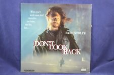 Don't Look Back - Eric Stoltz - Laser Disc