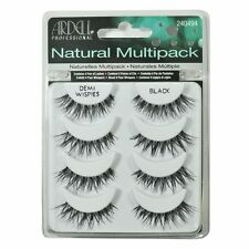 New 4 Pairs Ardell Demi Wispies Natural Multipack False Eyelashes Fake Eye Lash