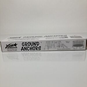 XDP Recreation Ground Corkscrew Anchors ForSwing Sets Trampolines & More NIB