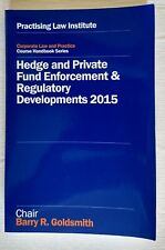 Hedge and Private Fund Enforcement & Regulatory Developments 2015 Paperback
