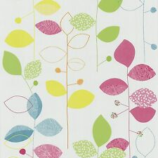 Papel pintado floral multicolor papel pintado P + s international X-treme color 05561-20 (1,86 €/1qm)