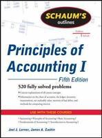 Schaum's Outline of Principles of Accounting I, Fifth Edition by Lerner, Joel J