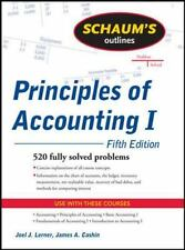 Principles of Accounting I : 520 Fully Solved Problems by Joel J. Lerner and Jam