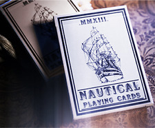 Nautical Playing Cards (Blue) Deck by House of Playing Cards and Murphy's Magic