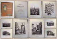 Kiepert Freiburg in Wort und Bild 1890 Großfolioausgabe mit 14 Lichtdrucken xz